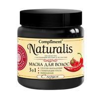 Маска для волос Комплимент (Compliment) Натур 3в1 с перцем 500мл упак.