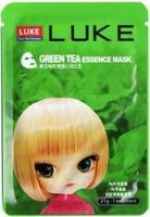 Маска с экстрактом зеленого чая Hanwoong LUKE Green Tea Essence Mask 21г