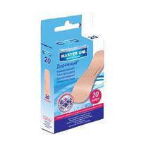 Master Uni набор лейкопластырей Дорожный полимерная основа 20 шт.