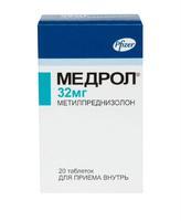 Медрол таблетки 32 мг, 20 шт.