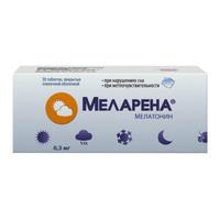 Меларена таблетки покрыт.плен.об. 0,3 мг 30 шт.