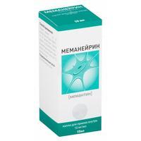 Меманейрин капли для приема внутрь 10 мг/мл 50 мл