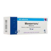 Меманталь таблетки покрыт.плен.об. 10 мг 60 шт.