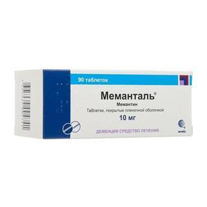 Меманталь таблетки покрыт.плен.об. 10 мг 90 шт.