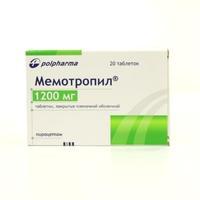 Мемотропил таблетки 1200 мг, 20 шт.