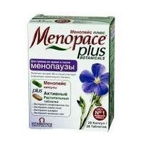 Менопейс плюс капсулы, 28 шт.+таблетки, 28 шт.
