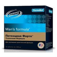 Менс формула Потенциал форте усиленная форма таблетки 15 шт.