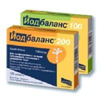 Йодбаланс таблетки 200 мкг, 100 шт.