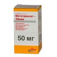 Метотрексат-Эбеве р-р для инъекций 10 мг/мл 5 мл флакон 1 шт.