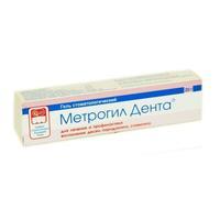 Метрогил дента гель для десен 10 мг/г, 20 г