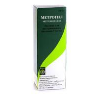 Метрогил флаконы 500 мг, 100 мл
