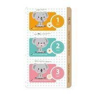 Mijin 3-Step Koala Nose Clear Solution набор от черных точек 7 г