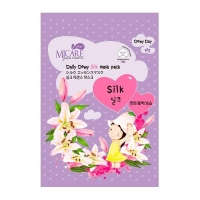 Mijin Daily Dewy маска тканевая с аминокислотами шелка MJ Care Daily Dewy Silk mask pack 25 г