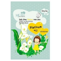 Mijin Daily Dewy маска тканевая с платиной MJ Care Daily Dewy Platinum Mask Pack 25 г