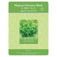 Mijin Essence Mugwort Essence Mask маска тканевая полынь 23 г
