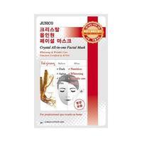 Mijin Junico Crystal маска тканевая c красным женьшенем Junico Crystal All-in-one Facial Mask 25 г