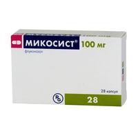 Микосист капсулы 100 мг, 28 шт.
