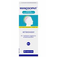 Микозорал шампунь 20 мг/мл, 60 г
