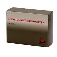 Мильгамма драже 100 мг, 60 шт.