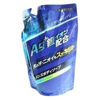 Mitsuei Крем-мыло для мужчин с ионами серебра увлажняющее,(ароматом мяты и цитруса) МУ 400мл