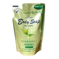 Mitsuei Soft Three Крем-мыло для тела с экстрактом алоэ (глубоко увлажняющее) 400мл