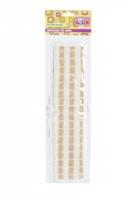 Мочалка льняная AZUR лента 75х8х35 см 1 шт