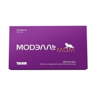 Модэлль Мам таблетки покрыт.плен.об. 0.075 мг 28 шт.