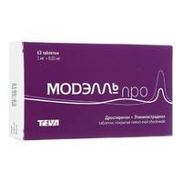 Модэлль Про таблетки покрыт.плен.об. 3 мг +0,03 мг 63 шт.