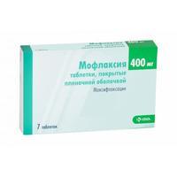 Мофлаксия таблетки покрыт.плен.об. 400 мг 7 шт.
