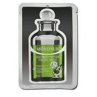 MondSub Маска тканевая для лица с экстрактом Чайного дерева и пептидами баланс 20г