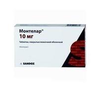 Монтелар таблетки покрыт.плен.об. 10 мг, 28 шт.