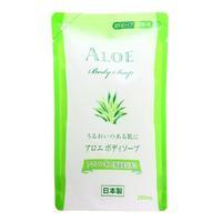 Moritoku мыло жидкое для тела Aloe 300 мл сменная упаковка
