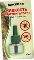 Москилл Жидкость для фумигатора от комаров и мух 30 мл