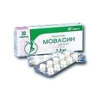 Мовасин таблетки 7,5 мг, 20 шт.