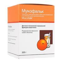 Мукофальк гранулы для суспензии д/приема внутрь с ароматом апельсина 300 г