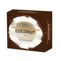 Mukunghwa мыло туалетное твердое из 100% масла кокоса с кокосовой копрой увлажняющее 100 г