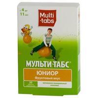 Мульти-табс Юниор таблетки жевательные фрукты 60 шт.