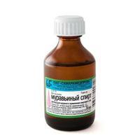Муравьиный спирт 1.4% флаконы 100 мл