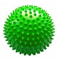 Мяч Ежик 120 мм зеленый в подарочной упаковке 1 шт.