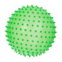 Мяч Ежик 85 мм зеленый люминесцентный в подарочной упаковке 1 шт.