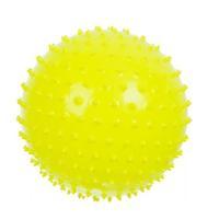 Мяч Ежик 85 мм желтый в подарочной упаковке 1 шт.