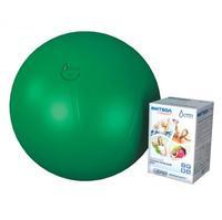 Мяч медицинский для реабилитации Фитбол Стандарт 450 мм ПВХ зеленый 1 шт.