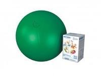 Мяч медицинский для реабилитации Фитбол Стандарт 550 мм ПВХ зеленый 1 шт.
