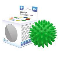 Мяч медицинский массажный Иглбол 65 мм ПВХ зеленый арт. 404142 1 шт.