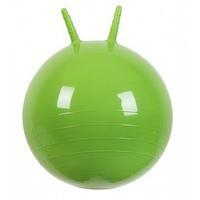 Мяч Прыгун с рожками 500 мм зеленый в подарочной упаковке 1 шт.