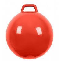 Мяч Прыгун с ручкой 500 мм красный в подарочной упаковке 1 шт.