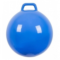Мяч Прыгун с ручкой 500 мм синий в подарочной упаковке 1 шт.