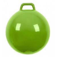 Мяч Прыгун с ручкой 500 мм зеленый в подарочной упаковке 1 шт.