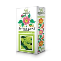 Мяты перечной листья пачка, 35 г