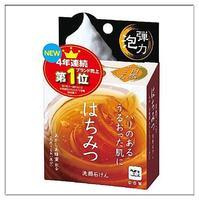 Мыло Cow для лица Hachimitsu экстр. меда скваленом коллагеном и гиалуроновой кислотой+мочалка 80 г 1 шт.
